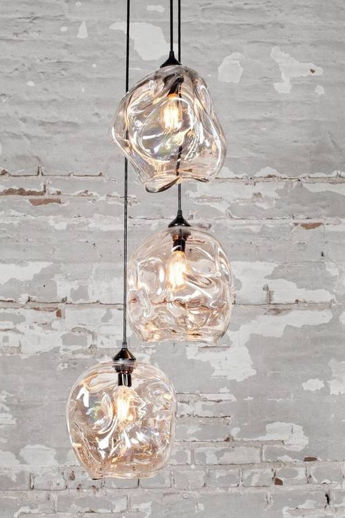 Pendant Lighting For Hand Blown Glass Lights Australia 15 Of