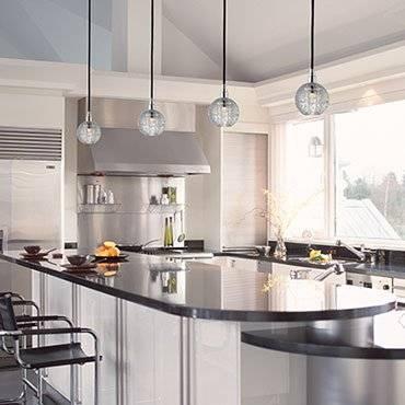Pendant Lighting & Hanging Drop Lights For Kitchen Islands In Mini Pendant Lights For Kitchen Island (#14 of 15)