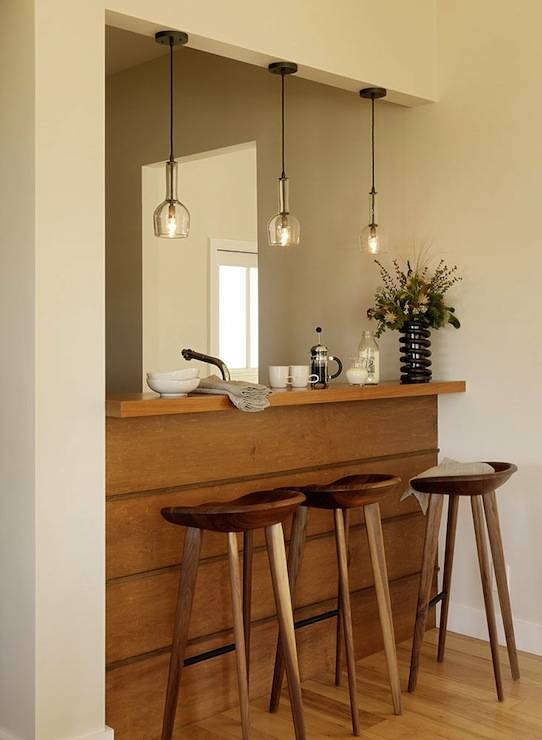 Pendant Lighting Over Bar Design Ideas Within Lights Over Breakfast Bar (#12 of 15)