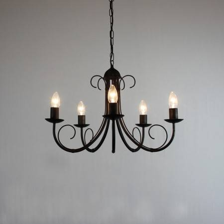 Popular Photo of Wrought Iron Lights Fittings