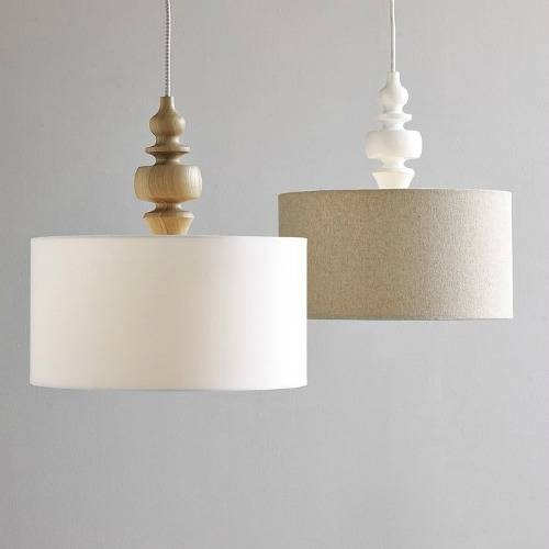 Pendant Lights With Punch Pertaining To Barrel Pendant Lights (#13 of 15)