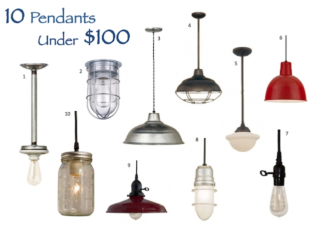 Pendant Options That Wont Break The Bank | Blog With Regard To Barn Pendant Lights Fixtures (#12 of 15)