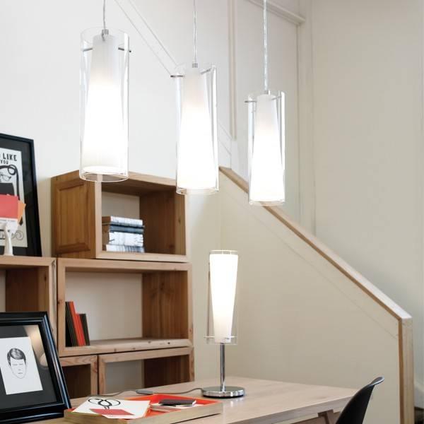 Pinto 3 Light Double Glass Pendant,lighting,beacon Lighting In Beacon Pendant Lights (#15 of 15)