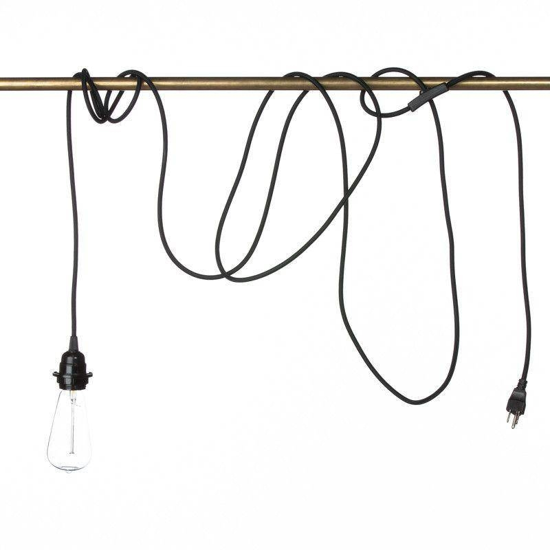 Plug In Pendant Light – Dutchglow For Cord Sets For Pendant Lights (#13 of 15)