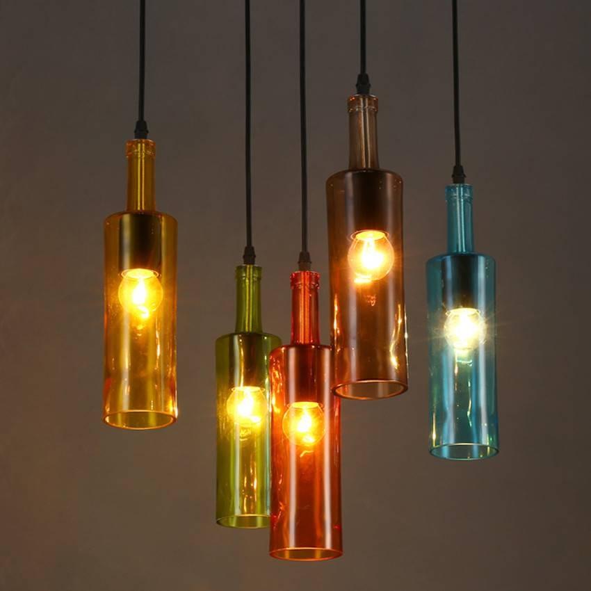 Popular Liquor Bottle Lamp Buy Cheap Liquor Bottle Lamp Lots From In Liquor Bottle Pendant Lights (#12 of 15)