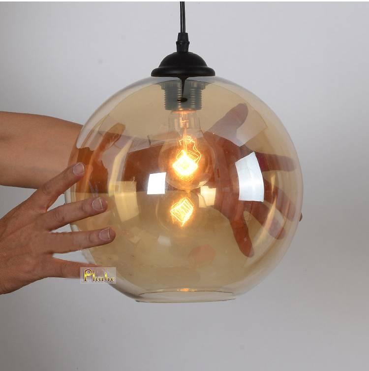 Popular Pendant Lights Amber Buy Cheap Pendant Lights Amber Lots For Brown Glass Pendant Lights (#14 of 15)