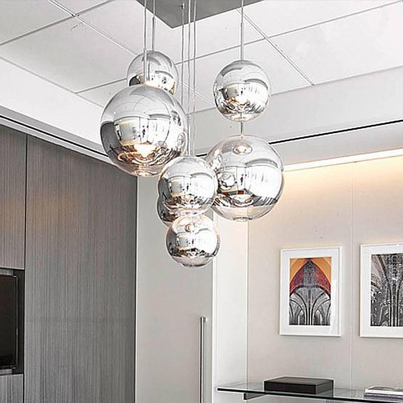 Best 15 Best Ideas of Silver Ball Pendant Lights LS08