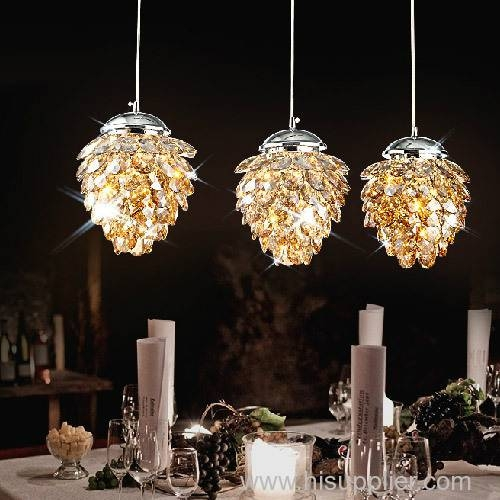 Post Modern Luxury Led Crystal Pendant Lighting Fixtures For Luxury Pendant Lighting (View 12 of 15)
