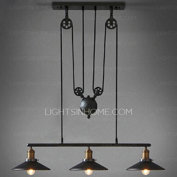 Popular Photo of Primitive Pendant Lighting
