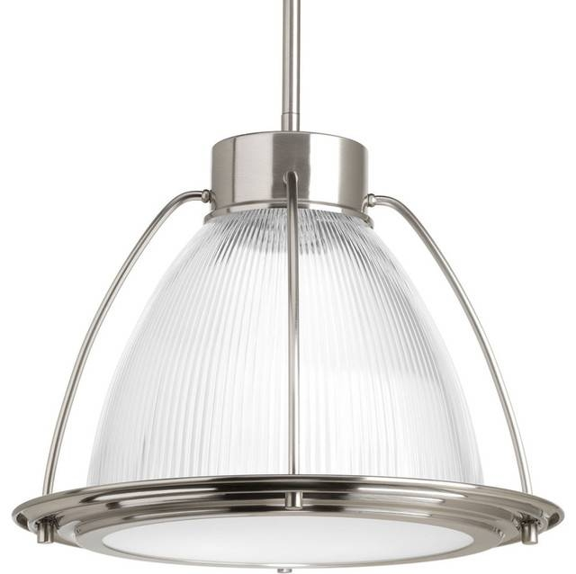 Progress Lighting P5143 Led Prismatic Glass 1 Light Led Pendant Within Beach Style Pendant Lights (View 8 of 15)