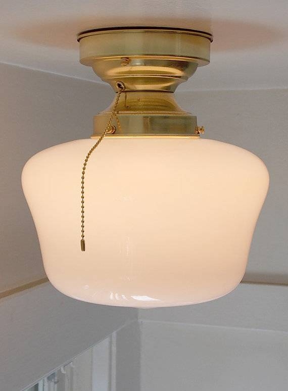 Pull Chain Ceiling Light Fixture For Interesting Illumination For Pull Chain Pendant Lights Fixtures (View 4 of 15)