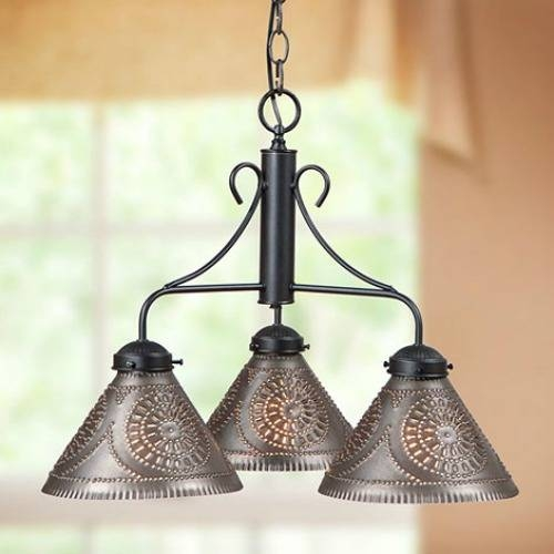 Punched Tin Lighting To Bring Period Detail To Your Home Decor Within Punched Tin Pendant Lights (#9 of 15)