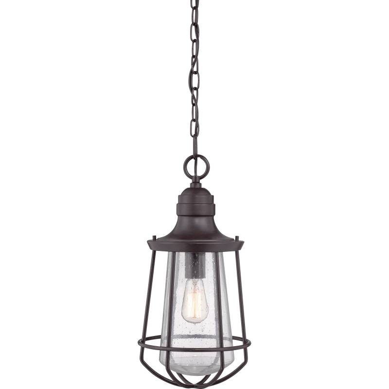 "Inspiration about Quoizel Mre1909Wt Marine Nautical Western Bronze Finish 9.5"" Wide With Regard To Quoizel Pendant Lights Fixtures (#13 of 15)"