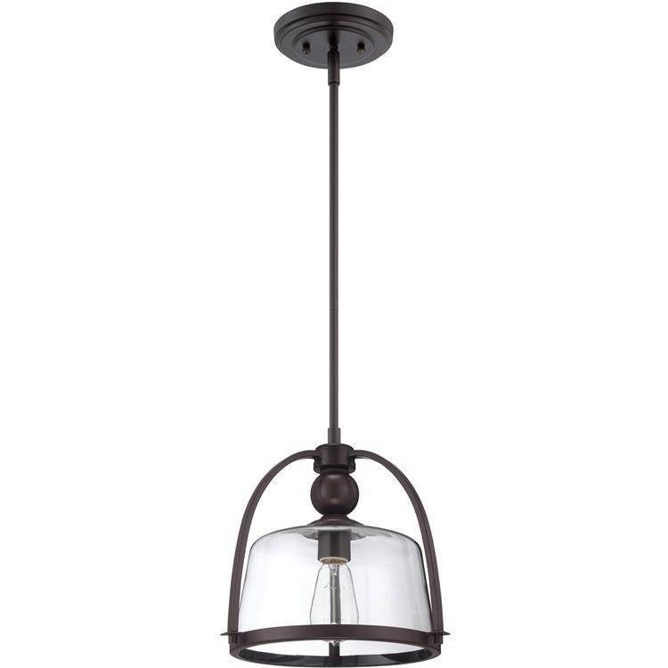 Inspiration about Quoizel|qpp1401wt|mini Pendant Wstrn Brnz In Quoizel Pendant Lights Fixtures (#12 of 15)