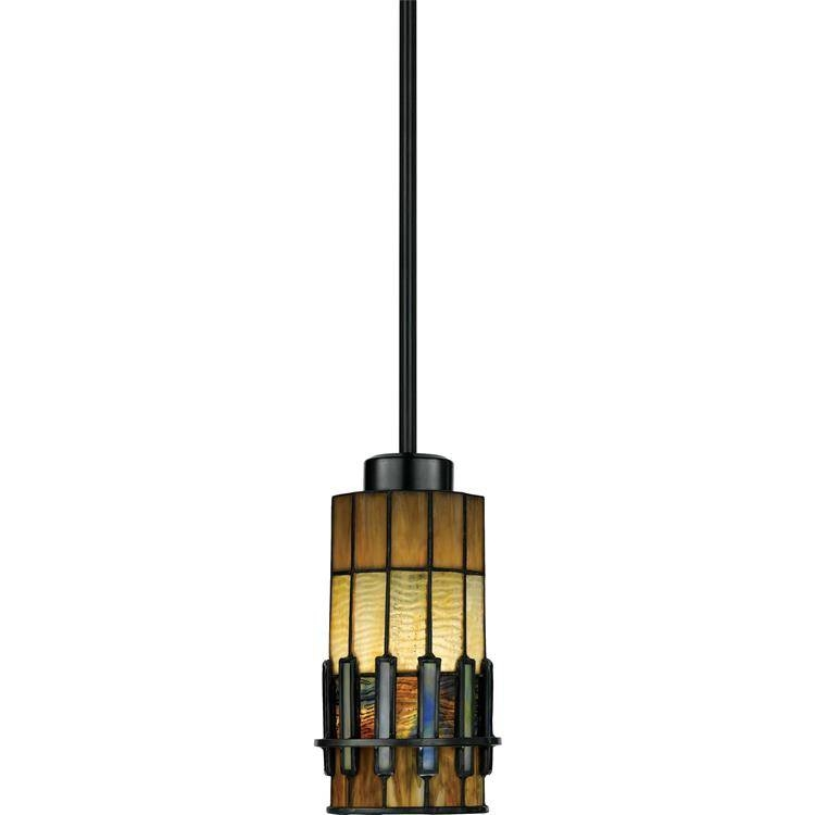 "Inspiration about Quoizel|Tf489P01Vb|Mini Pendant Tif Vint Brnz 5""d Within Quoizel Pendant Lights Fixtures (#11 of 15)"