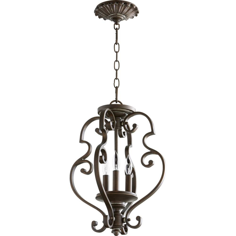 Inspiration about Quorum International Qin 2873 13 39 San Miguel Vintage Copper With Regard To Quorum Pendant Lights (#3 of 15)
