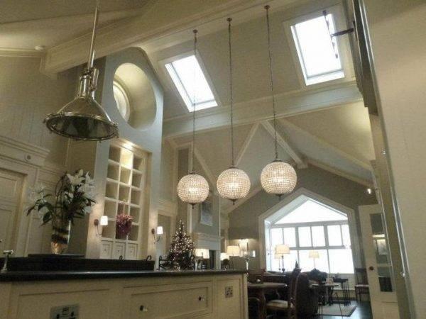 Railroad Era Pendant Lighting For High Ceiling Kitchens Blog Pertaining To Pendant Lighting For High Ceilings (#14 of 15)