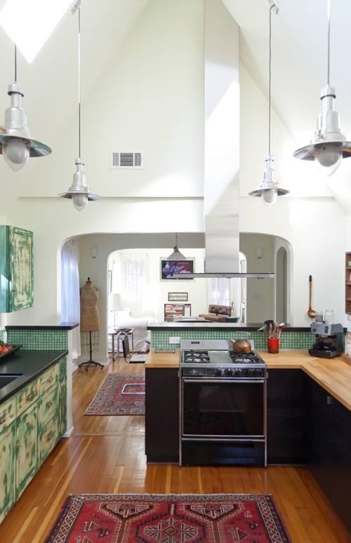 Railroad Era Pendant Lighting For High Ceiling Kitchens Blog Regarding Pendant Lights For High Ceilings (#14 of 15)