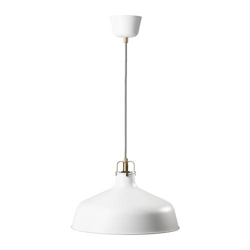 Ranarp Pendant Lamp – Off White – Ikea Throughout Ikea Lighting Pendants (View 4 of 15)