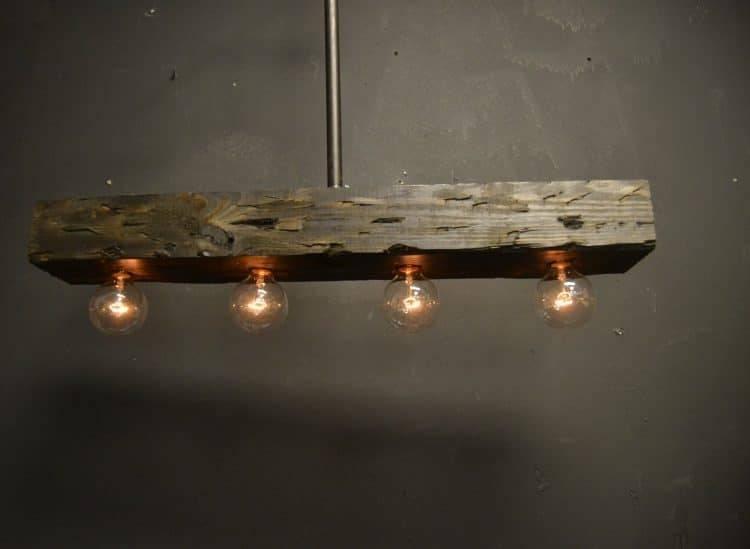 Popular Photo of Reclaimed Pendant Lighting