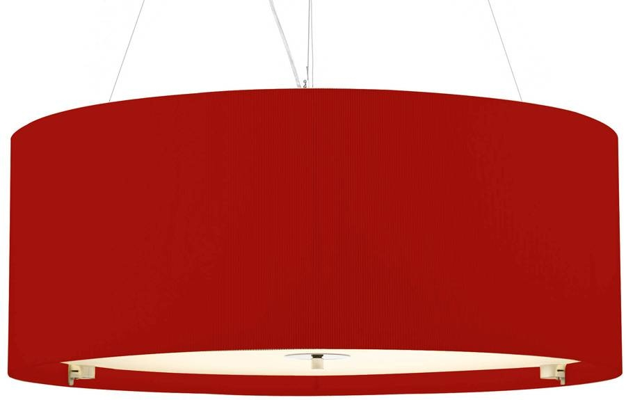 15 Inspirations of Red Drum Pendant Lights