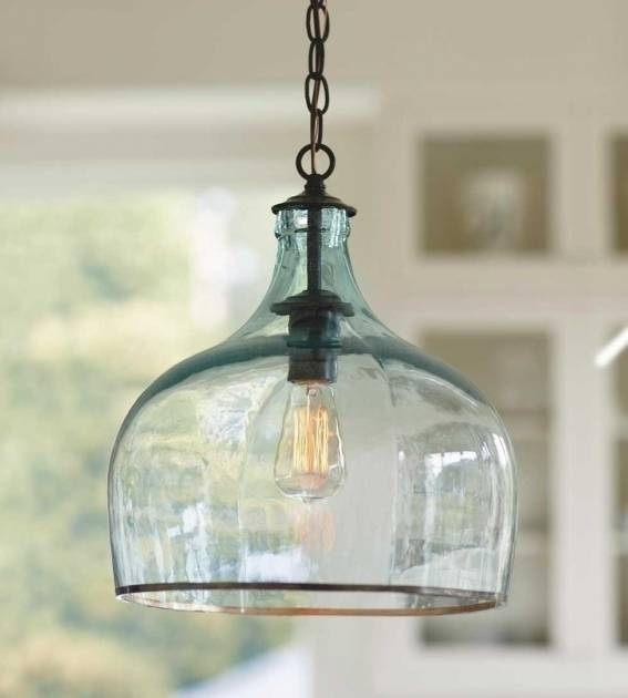 15 Collection Of Recycled Glass Pendant Lights