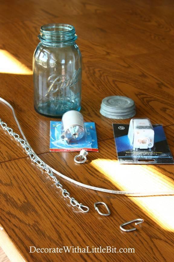 Remodelaholic | Diy Vintage Canning Mason Jar Pendant Lights Regarding Ball Jar Pendant Lights (#15 of 15)