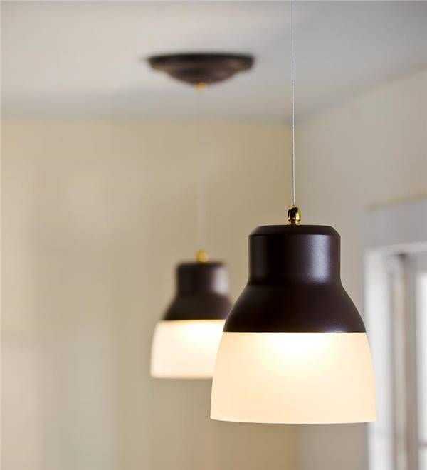 Remote Controlled, Battery Operated Ez Adjustable Pendant Light Pertaining To Battery Operated Pendant Lights (#14 of 15)