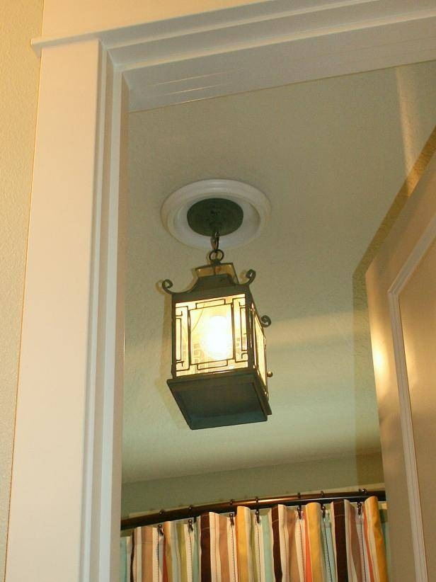 Replace Recessed Light With A Pendant Fixture | Hgtv In Recessed Lights Pendants (View 4 of 15)