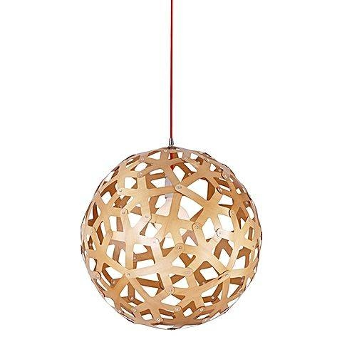 Replica Coral Wood Pendant Lightamonson Lighting | Zanui Within Coral Pendant Light Replicas (#14 of 15)