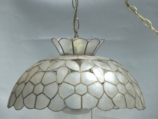 Popular Photo of Shell Lights Shades Pendants