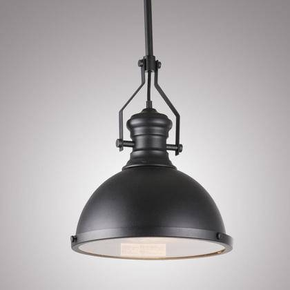 Reviews Of Vintage Industrial 1 Light Pendant At Lightingbox Intended For Canada Pendant Light Fixtures (View 5 of 15)