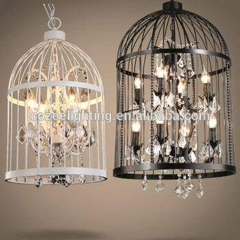 Rh Home Restaurant Decor Rustic Bird Cage Hanging Lighting In Birdcage Pendant Light Chandeliers (#15 of 15)