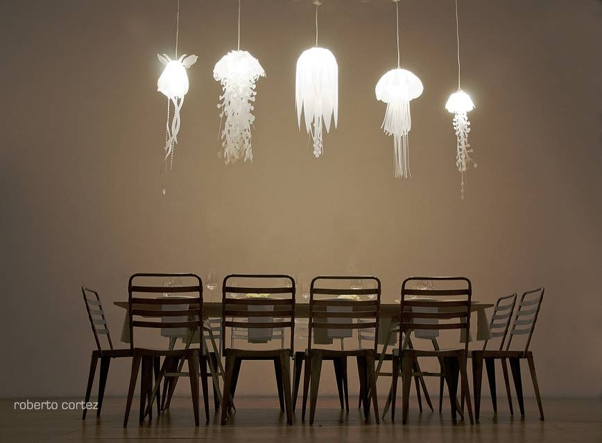 Roxy Russell Design — With Regard To Jellyfish Lights Shades (#15 of 15)