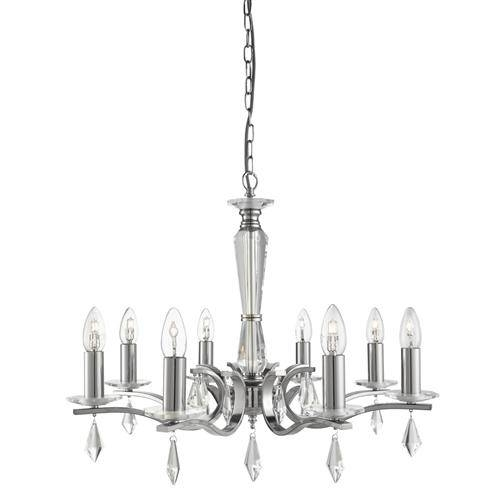Royale Multi Arm Pendant 3908 8Ss | The Lighting Superstore Within Multi Arm Pendant Lights (#14 of 15)