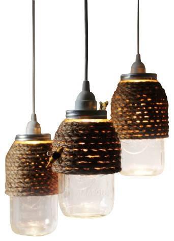 Rustic Pendant Light – Hbwonong Pertaining To Rustic Light Pendants (View 5 of 15)