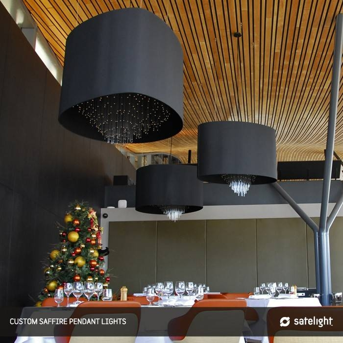 Satelight Saffire Restaurant Pendant Lights (minimum Order Intended For Restaurant Pendant Lighting (View 14 of 15)