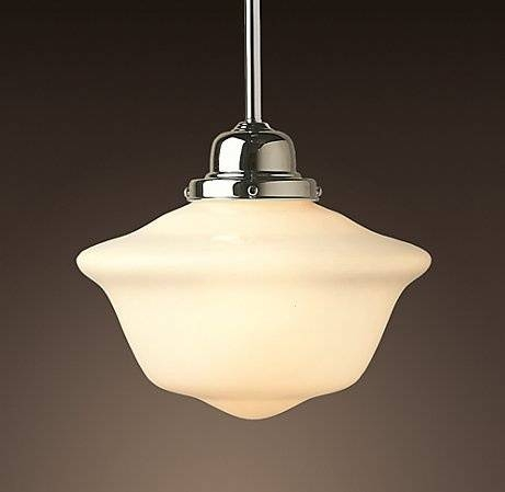 Schoolhouse Lights Pendant Standard Lenght — Room Decors And Design Inside Large Schoolhouse Lights (#9 of 15)