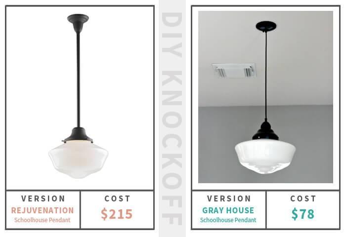Schoolhouse Pendant Light Solution | Gray House Studio Throughout Large Schoolhouse Pendant Lights (#9 of 15)