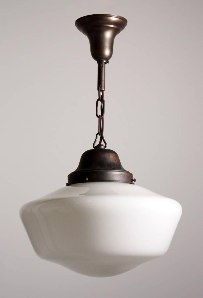Schoolhouse Pendant Light | The Aquaria Pertaining To Large Schoolhouse Pendant Lights (#10 of 15)