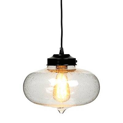 Seeded Glass Pendant Light – Look 4 Less And Steals And Deals (#13 of 15)