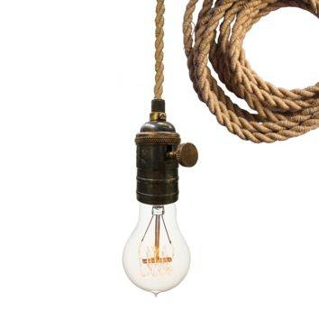 Shop Rope Pendant Light On Wanelo With Rope Cord Pendant Lights (View 13 of 15)