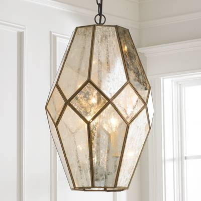 Shop Young House Love Lighting, Shades, & More In Mercury Glass Ceiling Lights (#11 of 15)