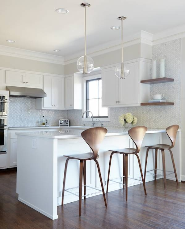 Silver Urchin Chandelier – Contemporary – Kitchen – Beth Haley Design Pertaining To Caviar Pendants (View 7 of 15)