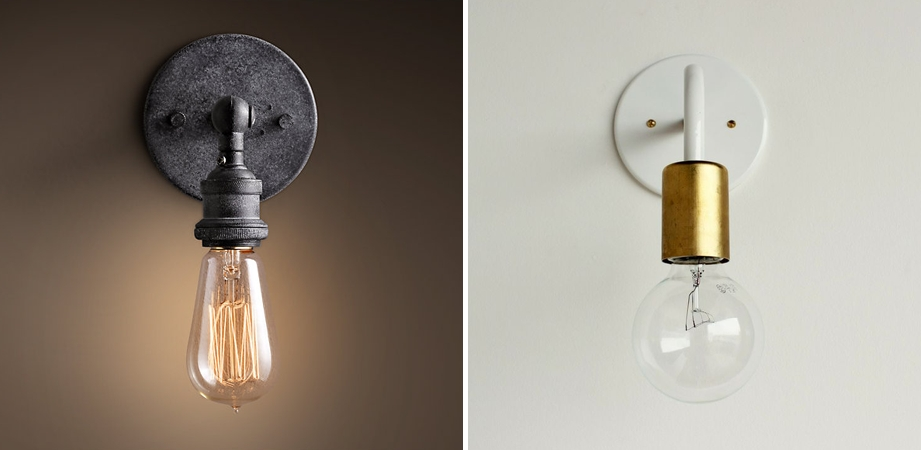 15 Ideas Of Bare Bulb Lights Fixtures