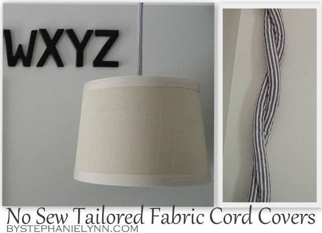 Simple Diy Plug In Drum Pendant Lighting {how To Turn A Lamp Shade In Cord Cover Pendant Lights (View 4 of 15)