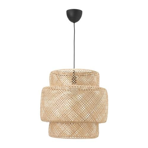 Sinnerlig Pendant Lamp – Bamboo, – – Ikea In Ikea Lighting Pendants (#12 of 15)