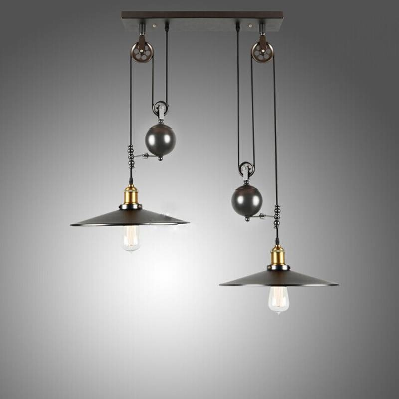 Some Style Industrial Pendant Lighting | Lighting Designs Ideas Regarding Industrial Style Pendant Lights Fixtures (#14 of 15)