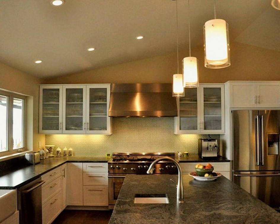 Splendid Pendant Lights Kitchen Island Spacing Using Double Within Double  Pendant Lights For Kitchen (#