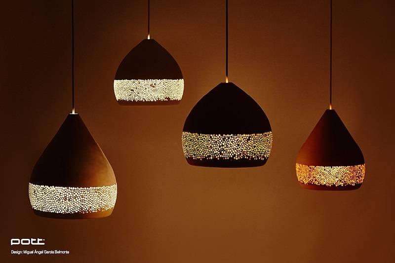 Spongeoh Terracota Hand Made Pendant Lightspott | Made In Spain Throughout Pendant Lights Melbourne (#10 of 15)